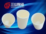 Alúmina Crisol para Sinterización Cerámica y Componentes Electrónicos