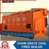 Caldaia a vapore Chain orizzontale della griglia del Doppio-Timpano industriale dello SZL 10-3.82MPa