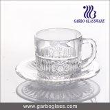 De uitstekende kwaliteit Gegraveerde Reeks van de Kop van de Thee van het Glas