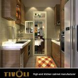 Naar maat gemaakte Europese Keukenkasten met Buitensporig ontwerp van de Meubelmakers tivo-0045h van China