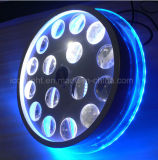 Luzes novas do efeito do diodo emissor de luz da flor elevada da rotação de Powe para a iluminação do disco