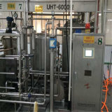 Máquina de enchimento da bebida do suco de fruta com conexão da limpeza do CIP