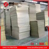 Máquina caliente de la prensa de filtro de la membrana 870 de la venta del chino fabricante para la desecación del lodo