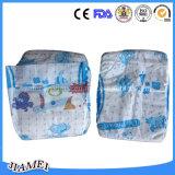 Fabricante 2016 dos guardanapo do bebê no tecido do bebê de China