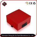 Rectángulo de regalo de encargo de la cartulina de la impresión colorida para los productos electrónicos