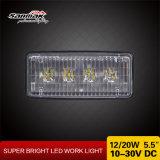 indicatore luminoso fuori strada del lavoro di agricoltura di 20W 5.5 '' Hotsale LED