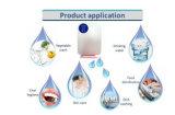 Gerador do ozônio do indicador da câmara de ar de Sterilizier Nixie da água com de controle remoto