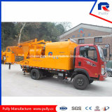 Pompe montée par camion hydraulique diesel de mélangeur concret à vendre