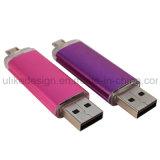 昇進の大きさOTG USB Flashdrive (UL-OTG017)のために普及した