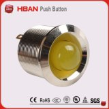 lâmpada indicadora vermelha do diodo emissor de luz 12V