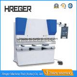 Máquina de dobra da placa Wc67y-100X3200 de aço & máquina de dobramento hidráulica