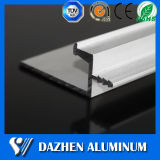Profil en aluminium en aluminium personnalisé de traitement de tiroir de porte avec anodisé