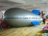Het embleem drukte de Opblaasbare Blimp van het Helium van de Reclame voor Bevordering af