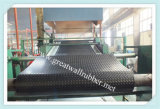 Anti-Slip резиновый циновка, половой коврик, резиновый настил с сертификатами ISO9001