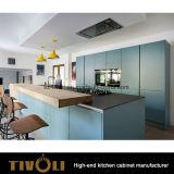 De lichte en Donkere Eenheden van de Keuken met omhoog-vouwt Deur voor het Kabinet tivo-0240h van de Muur