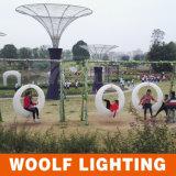 屋外の防水結婚式のテーマパークのプラスチックLEDによって照らされる振動