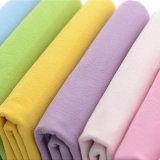 固体洗浄されたクレープの綿織物の100%年の綿207GSMファブリック