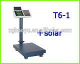 300kg 태양 전지판 T6-2를 가진 전자 디지털 벤치 가늠자