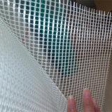Maille résistante de fibre de verre d'alcali blanc