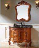 Governo verniciato europeo di vanità di memoria della stanza da bagno della quercia rossa (GSP14-008)