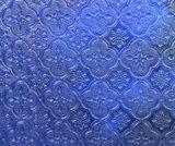 3mm 4mm 5mm 6mm 식물상 패턴을%s 가진 8mm 명확한 착색된 구른 돋을새김된 유리