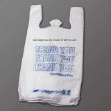 Tシャツのハンドルが付いている環境に優しいプラスチックショッピング・バッグ