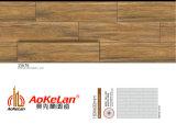azulejos de suelo de cerámica esmaltados de madera del material de construcción de la inyección de tinta de 150X600m m (15675)