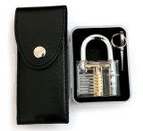 Прозрачный Padlock практики с инструментами 8PC Lockpicking (комбинированные 8-B)