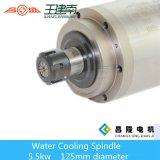 asse di rotazione ad alta velocità di CNC di raffreddamento ad acqua 24000rpm 5.5kw per la pietra