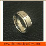 Anillo de dedo de gama alta de la vuelta de la manera del acero inoxidable de la joyería de Shineme (SRS8820)