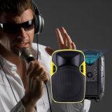 Bonne qualité 12 pouces de haut-parleur actionné par système de PA avec le projecteur