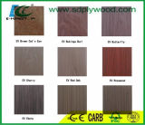 Folheado de madeira projetado EV da fábrica de Linyi