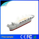 Bastone del USB di stile della nave del PVC di abitudine 3D di alta qualità