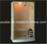 Stanza di sauna di legno solido con il formato personalizzato (AT-8609)