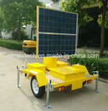 Angeschaltene bewegliche PTZ Kamera-Solarüberwachung