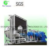 compressor de enchimento do cilindro de gás do nitrogênio da pressão de funcionamento 5MPa