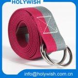 Courroie faite sur commande de sangle de polyester de tissu de mode/taille de toile pour les hommes
