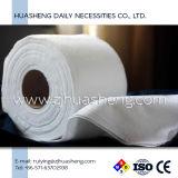 De Handdoeken van het broodje, Droge Handdoeken, het Rayon van 100%. Het milieuvriendelijke Washandje, het Niet-geweven Schoonmaken veegt af