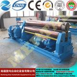 Quente! Mclw11nc-90X3000 Máquina hidráulica de laminação simétrica de três rolos, máquina de dobra