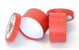 カスタム円形のペーパーギフトのパッケージボックス