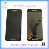 Nueva pantalla táctil elegante original del teléfono celular LCD para el nexo 6p de Huawei Google