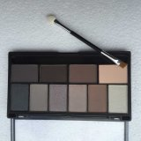 Eye Shadow Palette mit Pinsel 10colors Mineral Eye Shadow Palette