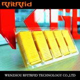 La batería de la frecuencia ultraelevada previene la escritura de la etiqueta de la etiqueta engomada del pisón RFID