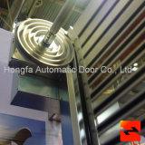 Gewundene Aluminiumrollen-Blendenverschluss-Hochgeschwindigkeitstür von Isoliersicherem