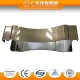 Cadre de porte en aluminium avec le divers traitement extérieur