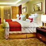 muebles modernos del dormitorio del hotel de cinco estrellas