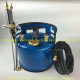Hangen de Scherpe Toorts van de Benzine van Oxy van het Type van hand/de Machine en de Draagbare Schouder (achter) Scherpe Toorts voor Lassen