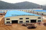Acero prefabricado del tirón vertido/taller de la fábrica/puente/Carpot/edificio de la estructura de acero de la alameda de compras