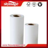 75GSM (1118mm *100m)速いカール止めの昇華転写紙は織物印刷のために乾燥する