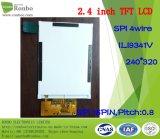 """moniteur de TFT LCD de 2.4 """" 240X320 Spi, Ili9341V, 16pin pour la position, sonnette, médicale"""